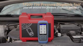 TP200 Tire Pressure Diagnosis Tool Quick Glance Video