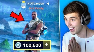 GREAT NEWS ABOUT MY FORTNITE ACCOUNT!.. (+100,000 V Bucks)