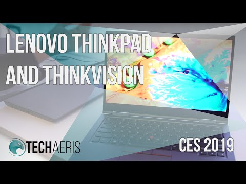 CES 2019] Lenovo introduces new ThinkPad and ThinkVision