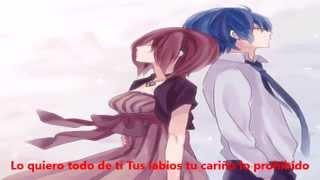【Vocaloid 4】Colgando en tus manos【KAITOxMEIKO】【Español】+ MP3