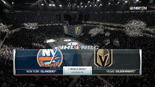 Look See | NHL 18 - New York Islanders vs. Vegas Golden Knights