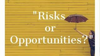 RISKS OR OPPORTUNITIES? - 1 Minute INSIGHTSTORY by Wafa El Hilali (Episode 7)