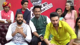 Banjo Movie Promotions On Sets Of The Voice India Kids