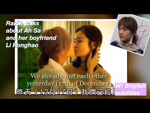 [ENG SUB] Rainie Yang on Ah Sa accompanying her to sleep & plans for Christmas Day (18/12/16)