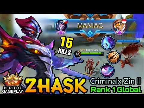 MANIAC!! Zhask Perfect Plays