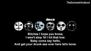Hollywood Undead - Bitches [Lyrics ]