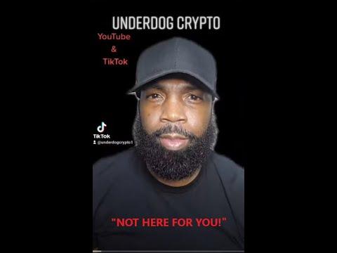 UNDERDOG CRYPTO TIP: CRYPTO INVESTORS TELL THEM THIS WHO DON'T GET IT. #UNDERDOGCRYPTO #CRYPTO