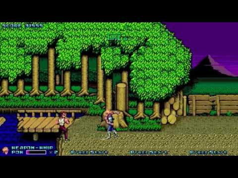 Double Dragon Gold OpenBOR Playthrough by Nz0x