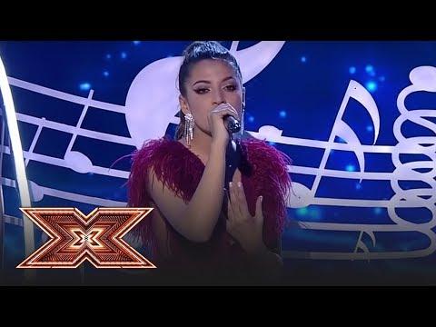 """Finala X Factor 2018. Doiniţa Ioniţă cântă melodia """"Hurt"""", ultima dată pe scena X Factor"""