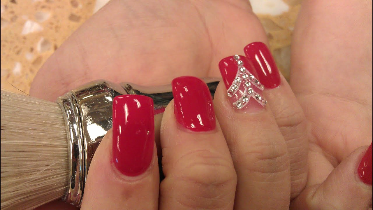 HOW TO ESSIE RED NOUVEAU NAIL POLISH DISPLAY - YouTube