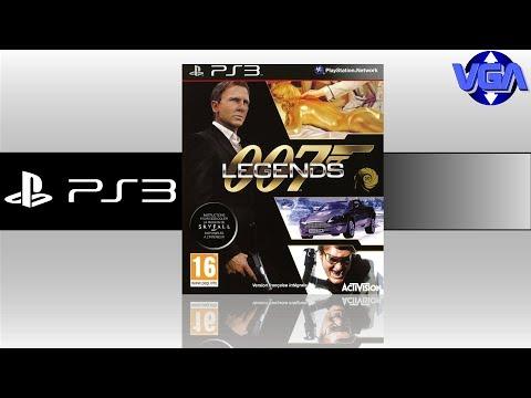 007 Legends Gameplay Playstation 3 Xbox 360 Wii u 2012