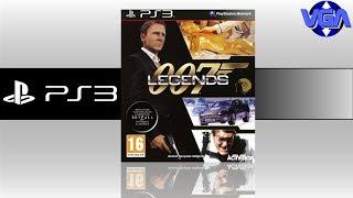 007 Legends Gameplay Playstation 3 ( 2012 )