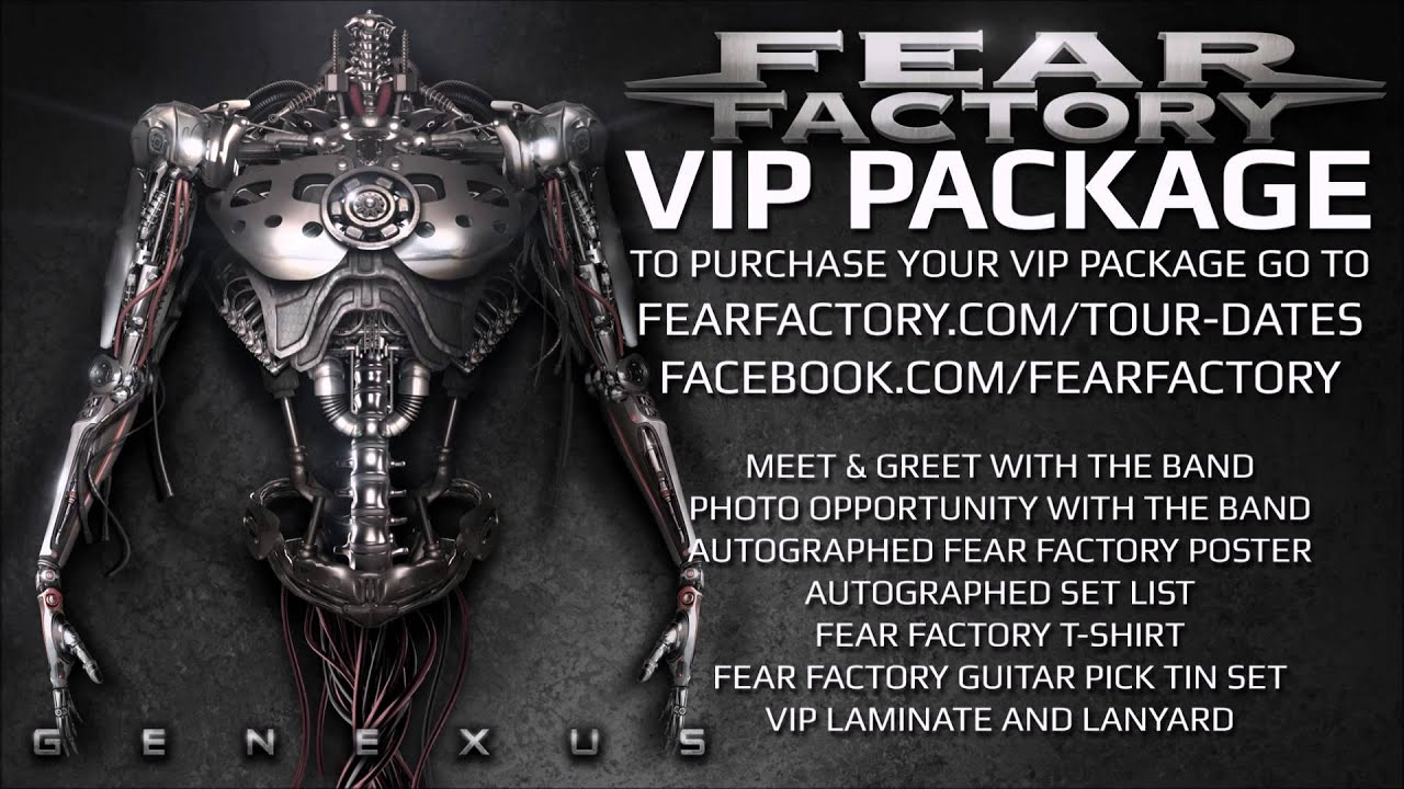 Fear Factory Vip Meet And Greet Now Available Youtube