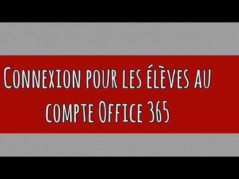 Office 365 et OneDrive - Service des technologies de l