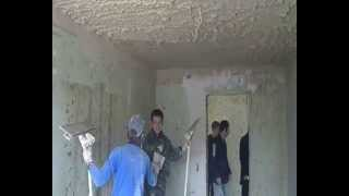 штукатурка стен без маяков видео