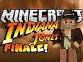 Minecraft: NUKE BOMB EXPLOSION - Indiana Jones & The Herobrine Staff - FINALE - Custom Map