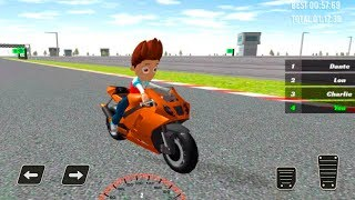 Paw Ryder Moto Racing 3D - PAW Racing Patrol Games Gameplay Android