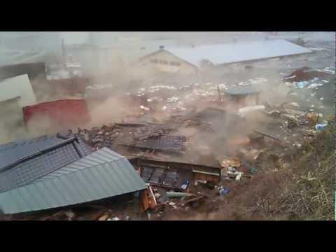 2011 Japan Tsunami: Ofunato [stabilized again with Deshaker]