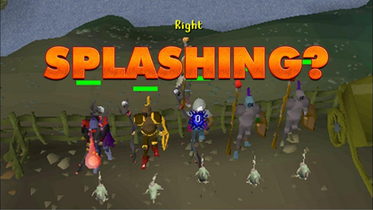 RuneScape Old School Team Has Fixed Splashing - Win