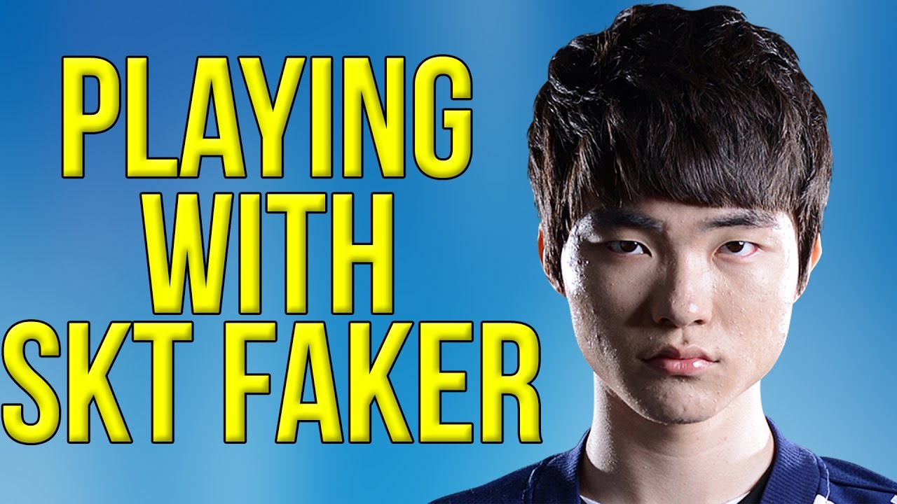 Annie Bot Playing With Skt Faker Youtube