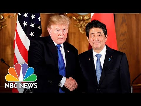 President Donald Trump Holds Bilateral Meeting With Japan's Prime Minister Shinzō Abe | NBC News