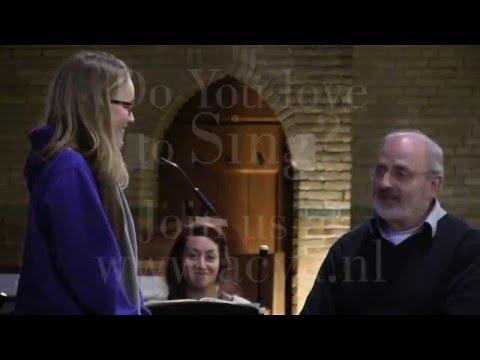 Zingen bij de Academy of Vocal Arts: plezier en uitdaging in een!