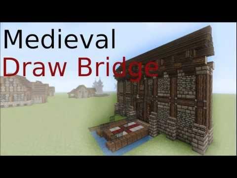 Minecraft Drawbridge tutorial