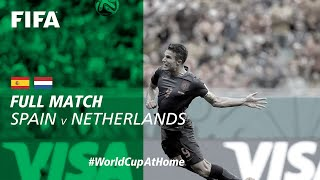 #WorldCupAtHome | Spain vs Netherlands (Brazil 2014)