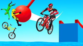 GTA 5 + HAPPY WHEELS = DESCENDERS!