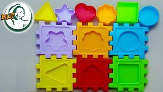 Learn color for kids with classic shape box