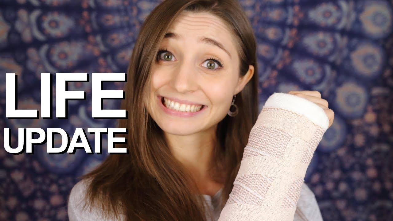 I broke my wrist! Life Update | German Girl in America