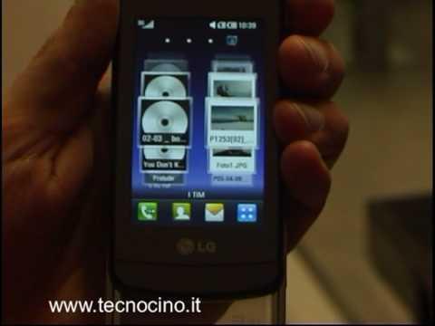 LG GD900 Crystal multimedialita'