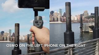 4K 30 fps DJI Osmo Pocket vs Mobile 2 - Best Mobile Gimbal vs the Pocketable Set-up