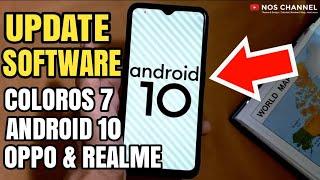 CEK SEKARANG! Update software OPPO & REALME •ColorOS7 •RealmeUi •Android10
