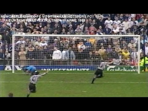 NEWCASTLE UNITED FC V TOTTENHAM HOTSPURS FC-FA CUP SEMI FINAL-LIVE MATCH-EXTRA TIME - PART 5