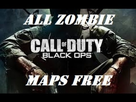 How To Unlock All Zombie Maps Cod Black Ops Youtube