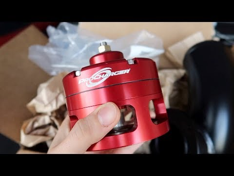 Installing the LOUDEST Blow Off Valve EVER: Procharger Big Red BOV