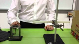 Goldleaf Electroscope Experiment 1