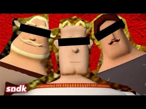 Три богатыря и три богатыря в X2 X4 и X8
