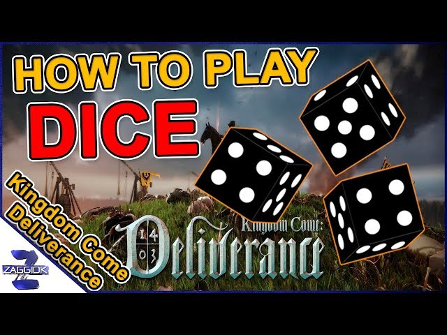 How to Play Dice Gambling Game Farkle Kingdom Come