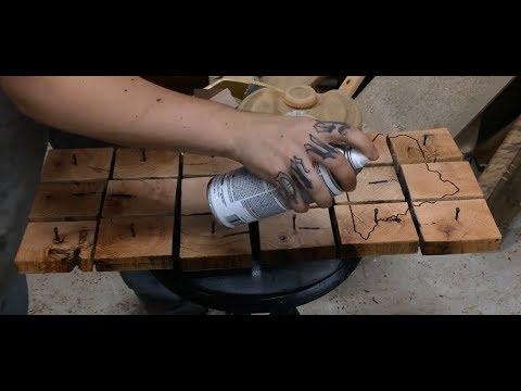 Making a Reclamed Wood Key/Hat Rack