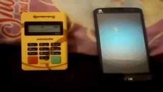 Configurando a Minizinha PagSeguro