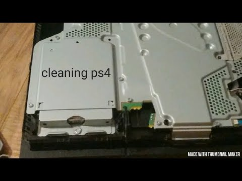 Cleaning my ps4