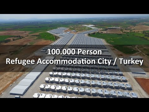 100.000 Person Refugee Residential City - Turkey - DORCE
