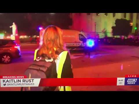 US Police Fire Shots At Reporter Live On TV