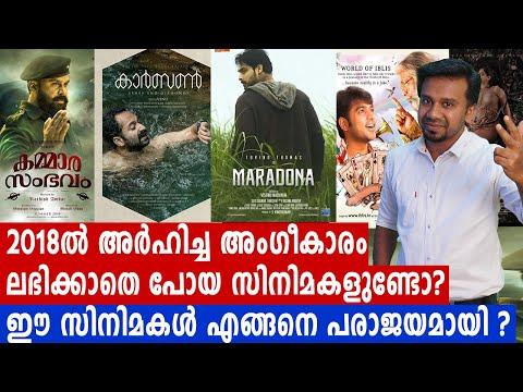 2018 ൽ  അംഗീകാരം ലഭിക്കാതെ പോയ സിനിമകൾ | #Kammarasambhavam | #Carbon | filmibeat Malayalam Mp3