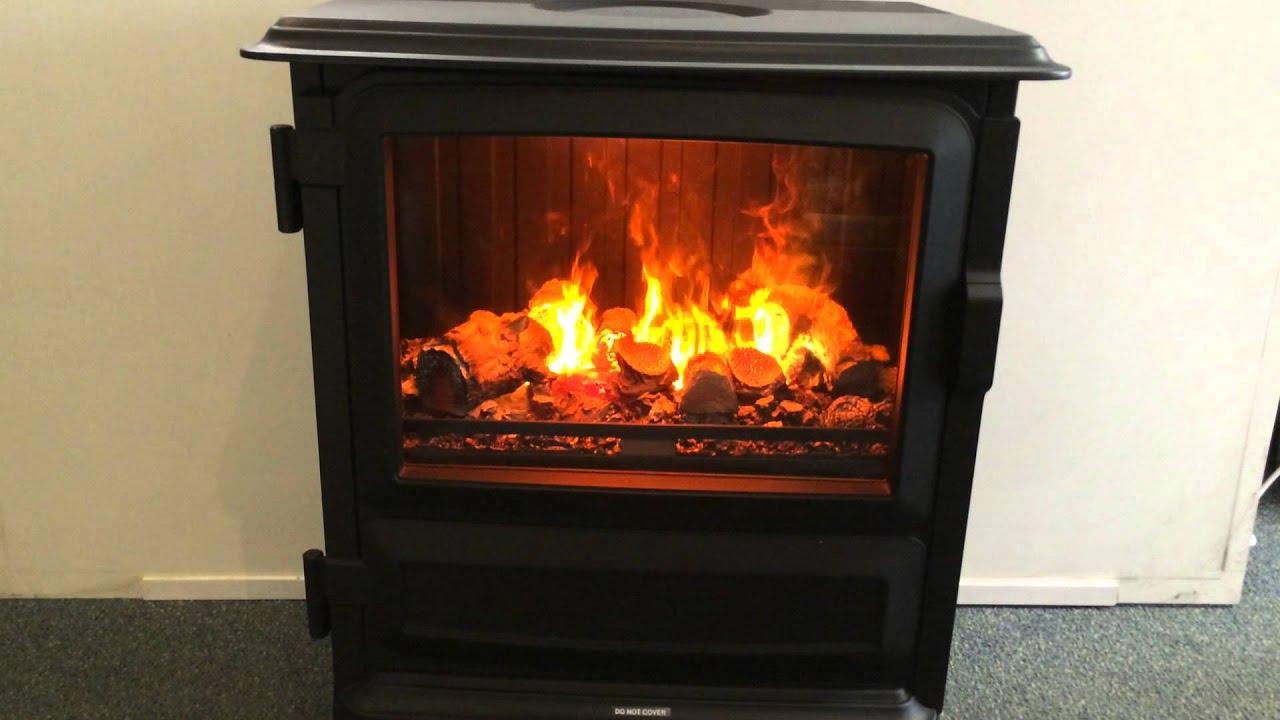 Dimplex Piermont Opti Myst Electric Fire   YouTube