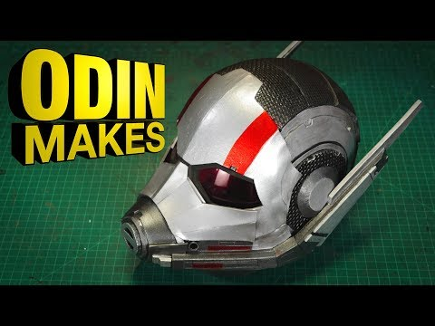Odin Makes: Ant-Man's Helmet from Ant-Man and the Wasp