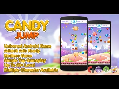 Candy Jump Android Source Code + BBDOC (Eclipse + Android Studio)