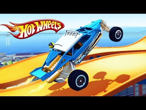 THREAT RACING cars HOT wheels Games cartoon for children about cars, Monster Truck Hot Wheels